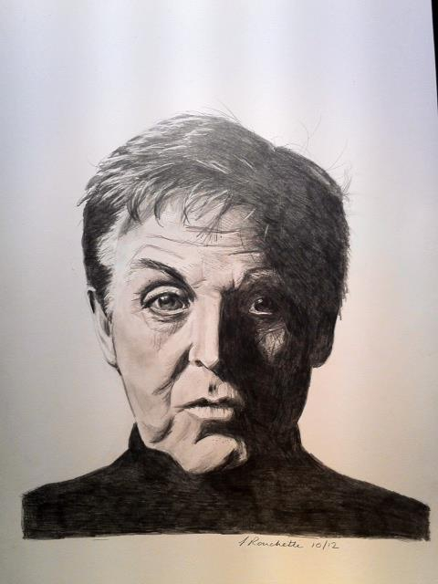 Paul McCartney by mustangsal